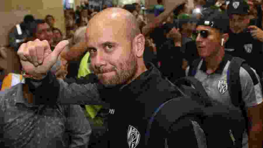 Miguel Ángel Ramírez, técnico do Independiente del Valle - Cristina Vega Rhor/AFP