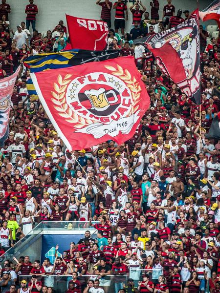 Torcida do Flamengo na partida contra o Macaé, pelo Carioca - Alexandre Vidal / Flamengo