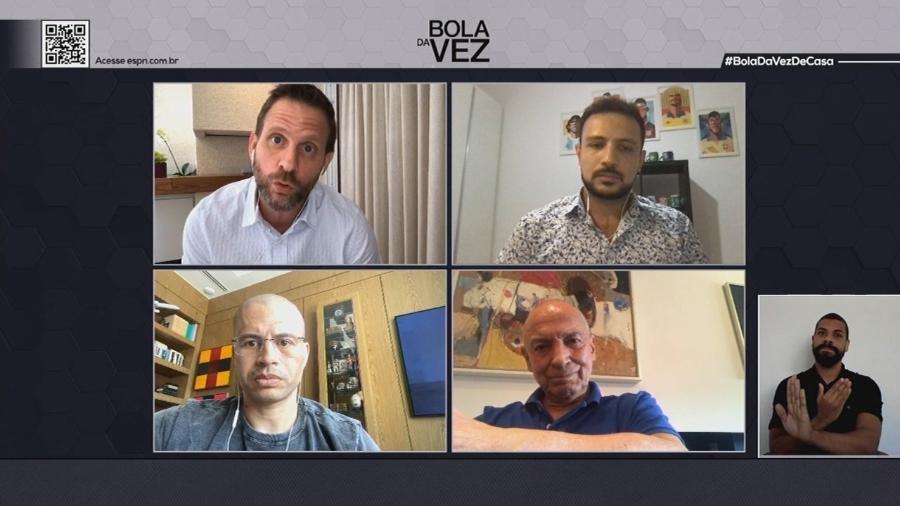 Intérprete de Libras aparecerá durante toda a exibição do Bola da Vez, programa da ESPN Brasil - Reprodução/ESPN Brasil