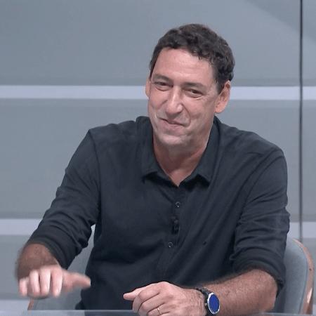 O comentarista PVC, do SporTV - Reprodução / SporTV