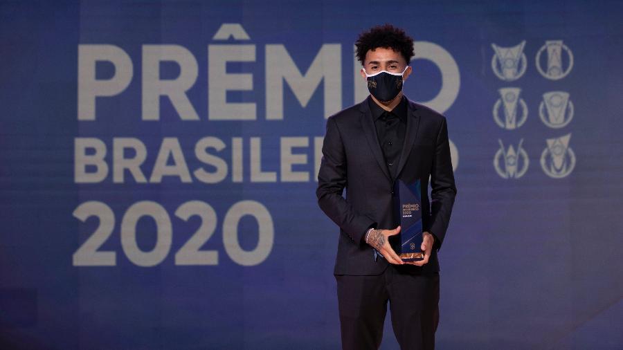 Claudinho, do Red Bull Bragantino, é eleito o Craque do Brasileirão 2020 - Lucas Figueiredo/CBF