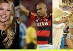 Adriano e mais: os atletas em relacionamentos com duas (ou mais) mulheres - Arte/UOL