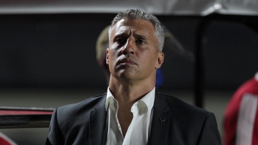 Hernán Crespo, técnico do São Paulo - Rubens Chiri / saopaulofc.net