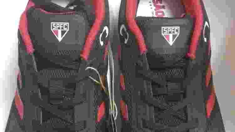 Tênis da Adidas foi vetado pelo São Paulo mas apareceu à venda em lojas físicas - UOL Esporte - UOL Esporte
