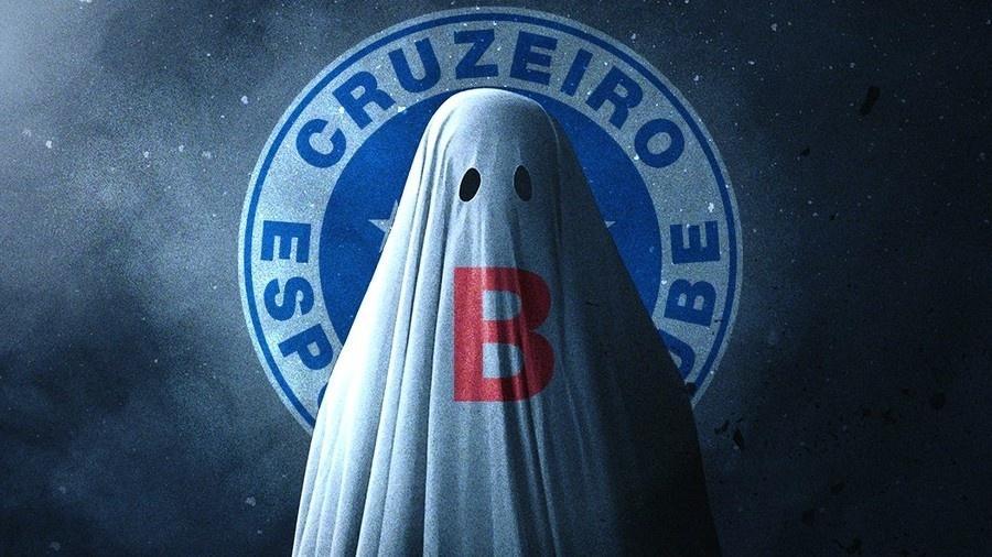 """O Cruzeiro e o """"fantasma do rebaixamento""""  - Reprodução/Twitter"""