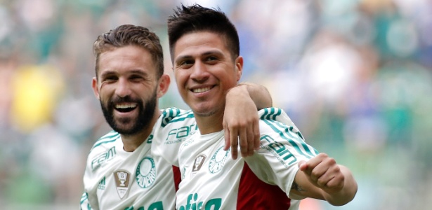 Allione soma 52 partidas com a camisa do Palmeiras, com cinco gols marcados