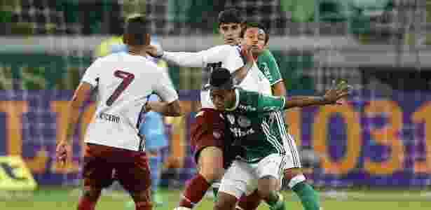 Palmeiras-Fluminense - Cesar Greco/Ag Palmeiras - Cesar Greco/Ag Palmeiras