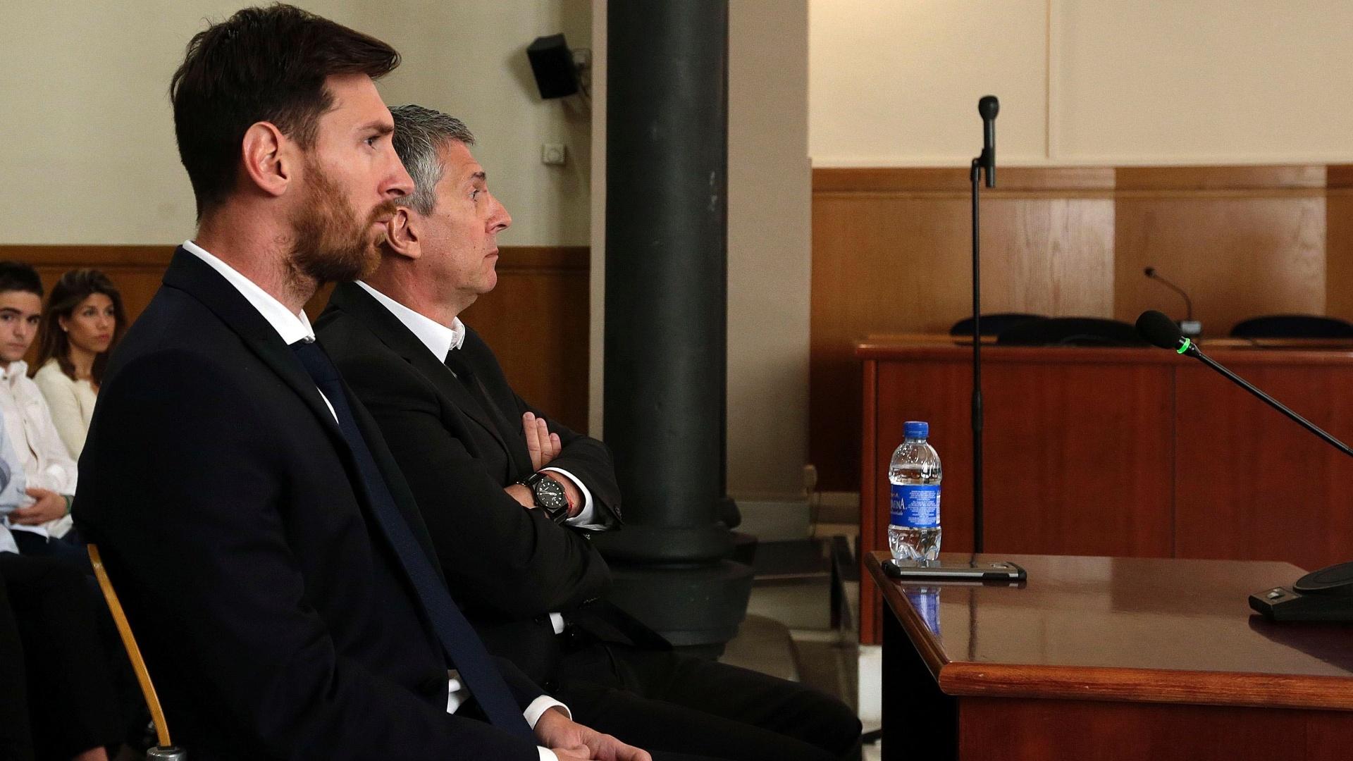 Lionel Messi comparece ao Tribunal em Barcelona para responder suposto desvio fiscal