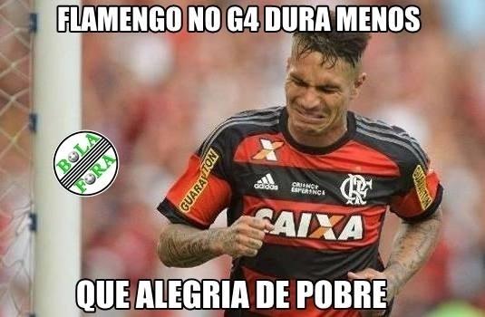 Pessoal não perdoou a derrota do Flamengo para o Fluminense