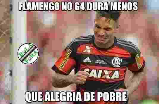 Pessoal não perdoou a derrota do Flamengo para o Fluminense - Reprodução