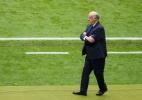 """""""Pedi para Del Bosque continuar"""", diz presidente da Federação Espanhola - Charles Platiau/Reuters"""