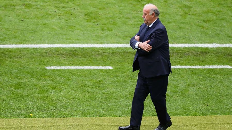Vicente del Bosque foi campeão mundial com a Espanha em 2010, mas agora está aposentado - Charles Platiau/Reuters