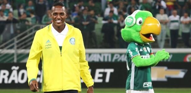 Mina terá a chance de estrear pelo Palmeiras já nesta segunda-feira
