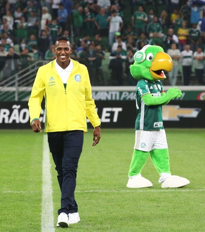 Yerry Mina periquito Palmeiras