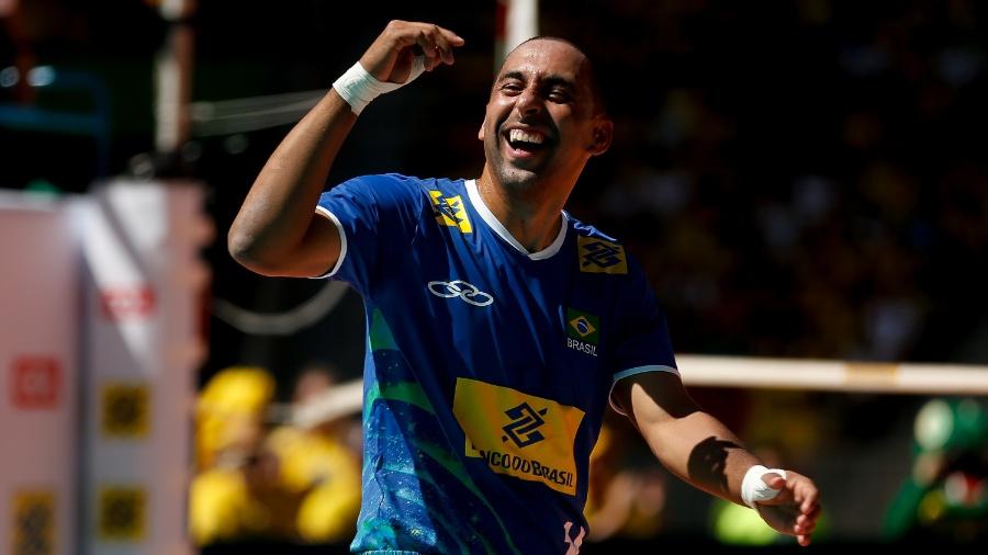 Serginho foi eleito para presidir a Comissão dos Atletas do Vôlei  - Pedro Ladeira/Folhapress