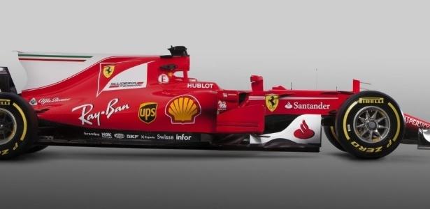 SF70-H, o carro da Ferrari para a temporada de 2017