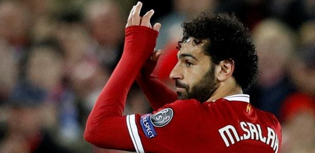 Salah: dois gols e duas assistências contra a Roma - REUTERS/Phil Noble