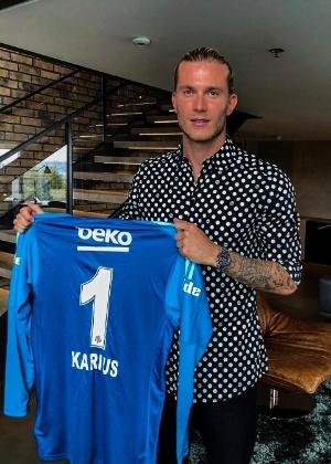 Karius defenderá o Besiktas, da Turquia, por duas temporadas - Reprodução/Instagram