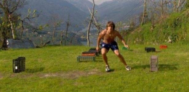 Elinton Andrade teve que treinar em uma fazenda após deixar o Vasco em 2005 antes de brilhar na França - Arquivo Pessoal