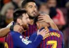 Coutinho brilha e Messi faz gol 400 no Espanhol em vitória do Barcelona - ALBERT GEA/REUTERS