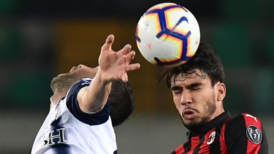 Lucas Paquetá foi titular na partida diante do Chievo - Miguel Medina/AFP