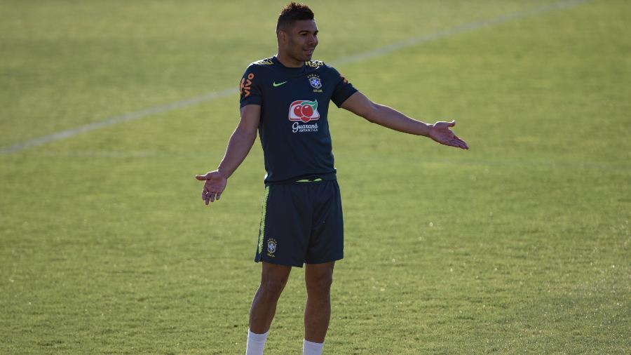 Casemiro será o capitão da seleção brasileira no jogo deste sábado contra o Panamá - Pedro Martins/Mowa Press