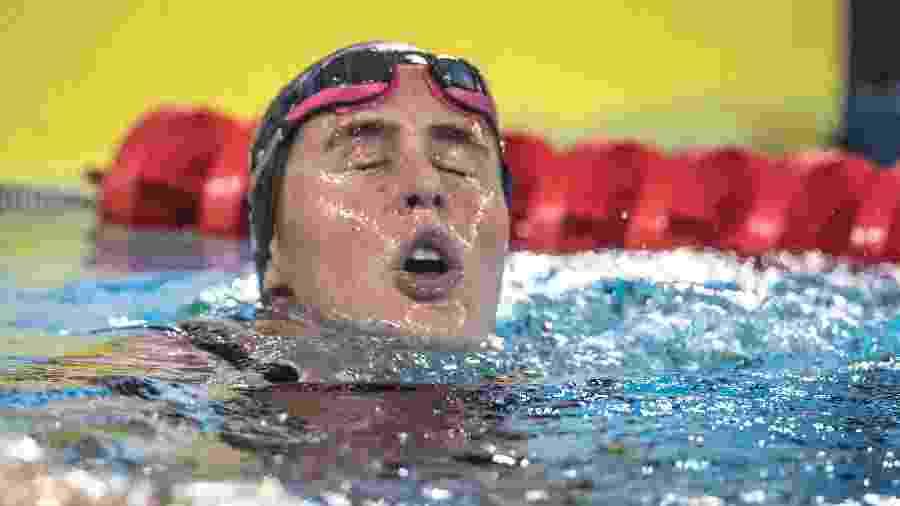 Viviane Jungblut competiu na piscina e em águas abertas no Pan de Lima - Jonne Roriz/COB