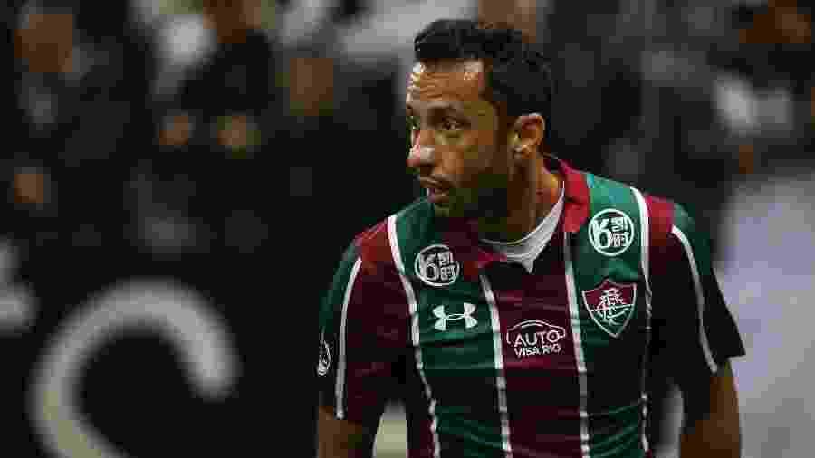 Nenê foi um dos destaques do Fluminense no empate com o Corinthians - Lucas Merçon/Fluminense FC