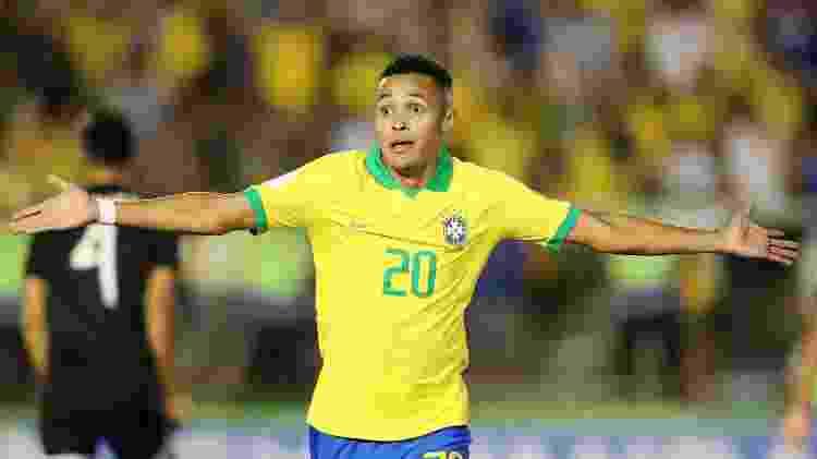 Lázaro faz o gol da virada do Brasil contra o México na final da Copa do Mundo sub-17 - REUTERS/Sergio Moraes - REUTERS/Sergio Moraes