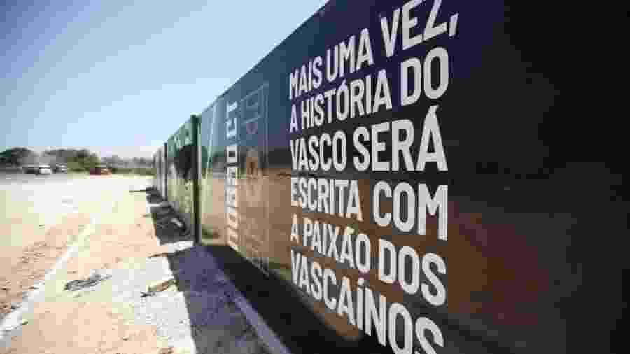 Previsão é que primeira parte do CT esteja pronta em julho - Rafael Ribeiro / Vasco