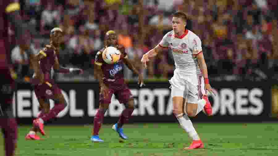 Bruno Fuchs se consolida como titular do Internacional após volta da seleção - Ricardo Duarte/Inter