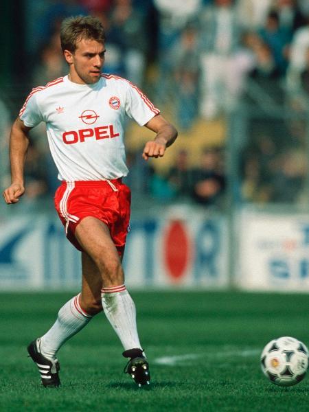 Hans Filck como jogador do Bayern: mais de 100 jogos, mas poucos gols - Bongarts/Getty Images