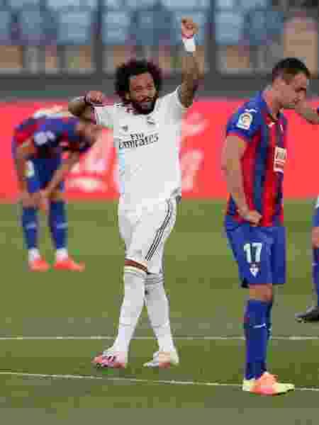 Marcelo, do Real Madrid, perderá rodadas finais do Espanhol - Gonzalo Arroyo Moreno/Getty Images