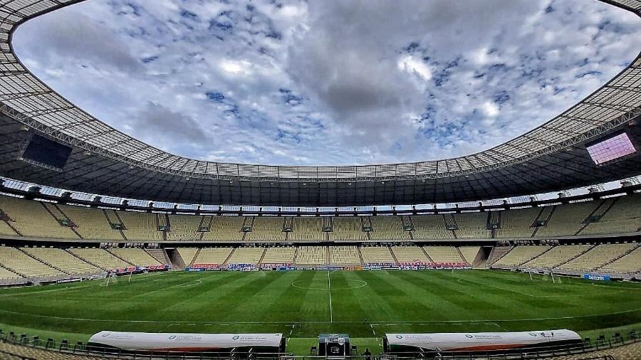 Castelão será o palco da semifinal da Copa do Nordeste neste sábado (24) - Alexandre Vidal/CRF