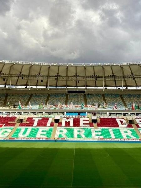 Fluminense x Athletico-PR será no Maracanã - Reprodução Twitter Maracanã