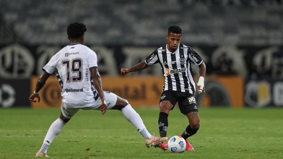 Tchê Tchê será desfalque do Galo contra o São Paulo na terceira rodada do Brasileirão - Pedro Souza/Atlético-MG