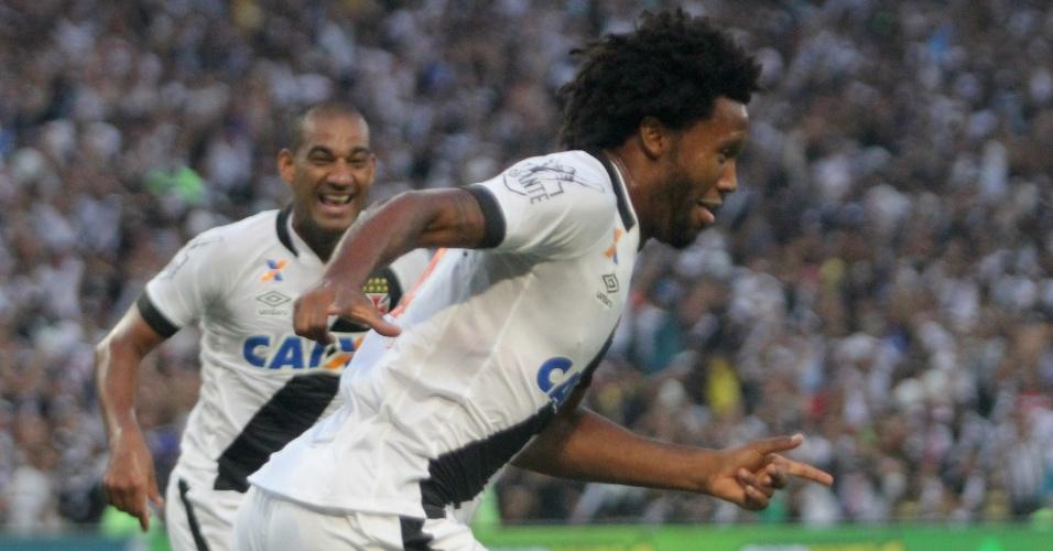 Rafael Vaz comemora gol de empate do Vasco na final do Campeonato Carioca 2016