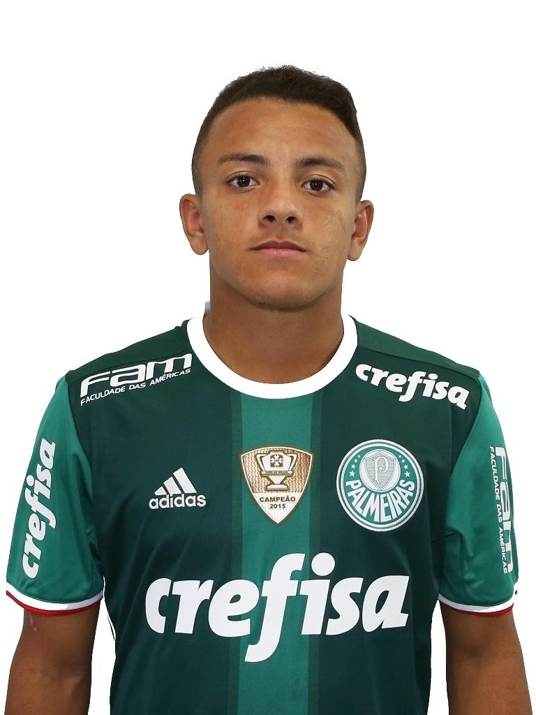 Gionnotti, meia sub-20 do Palmeiras