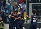 Brasileiros Marquinhos e Lucas marcam e PSG goleia no Francês - REUTERS/Jean-Paul Pelissier
