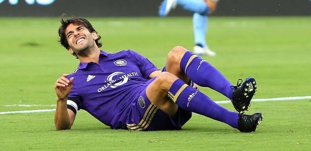 Kaká se contundiu durante jogo do Orlando