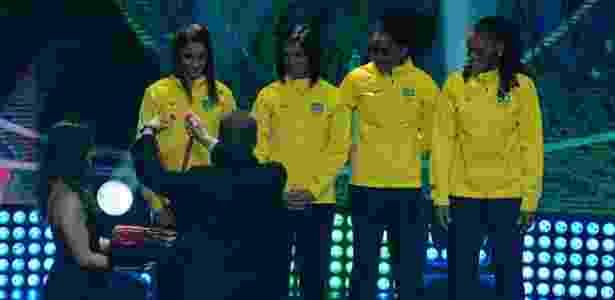 Rosângela Santos foi uma das atletas premiadas com medalha de bronze -  MARCELLO DIAS/FUTURA PRESS/FUTURA PRESS/ESTADÃO CONTEÚDO