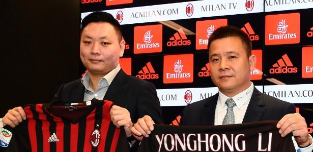 Li Yonghong gastou 200 milhões de euros em reforços para o Milan