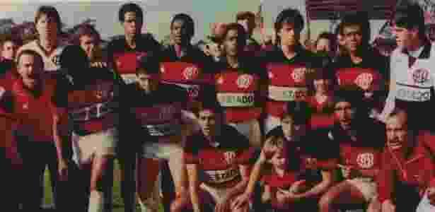 Atlético-PR 1988 - Reprodução/ Livro CAP Paixão Eterna - Reprodução/ Livro CAP Paixão Eterna