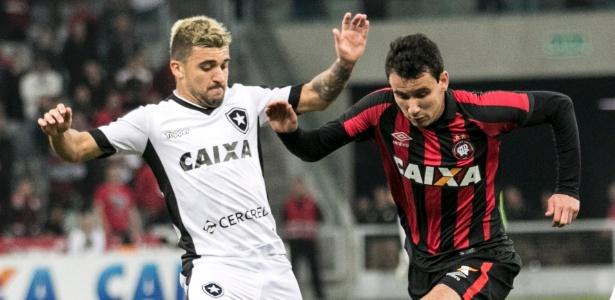 Ataque do Atlético teve Pablo, mas não saiu do zero com o Botafogo