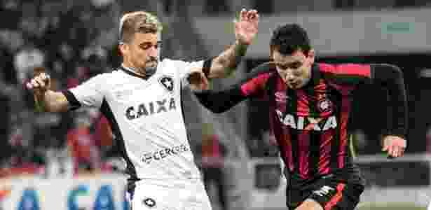 Ataque do Atlético teve Pablo, mas não saiu do zero com o Botafogo - Cleber Yamaguchi/AGIF