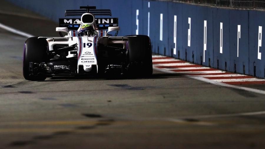 Felipe Massa durante o GP de Cingapura - Mark Thompson/Getty Images