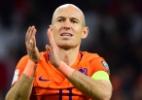 Fora da Copa, Robben anuncia aposentadoria da seleção holandesa - EMMANUEL DUNAND/AFP