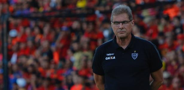 O técnico Oswaldo de Oliveira tem contrato com o Atlético-MG até 2018, mas não sabe se fica no clube