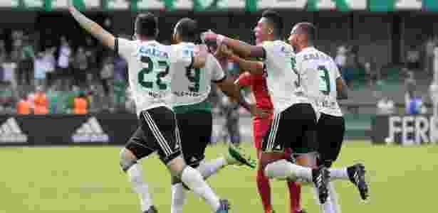 Coritiba fez 1 a 0 no primeiro tempo com Alecsandro; no segundo, fez mais dois - Coritiba FC/Divulgação