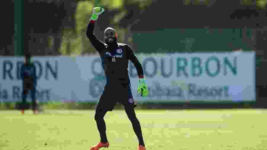 O goleiro Danilo Fernandes, do Internacional - Ricardo Duarte/Inter